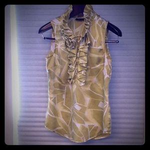 New York and Company sleeveless blouse